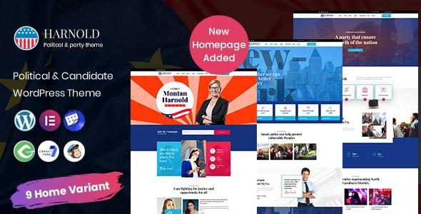 Harnold - Political WordPress Theme - Political Nonprofit
