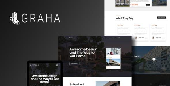 Graha - Real Estate Elementor Template Kit