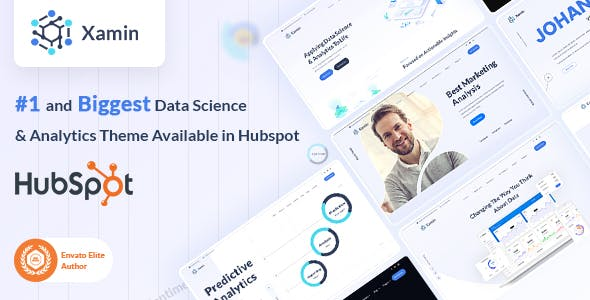 Xamin | Data Science & Technology HubSpot Theme