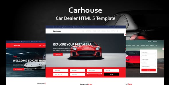 Car House - Automobile HTML5 Template