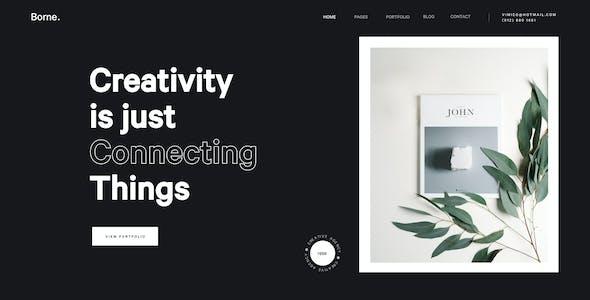 Borne - Agency portfolio Figma Template