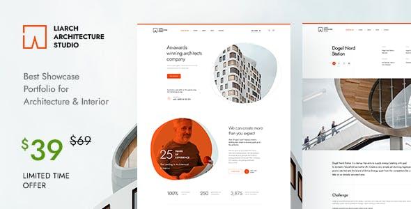 Liarch - Architecture & Interior WordPress Theme