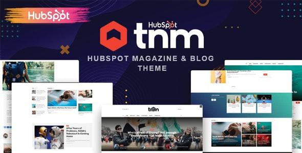The Next Mag - Blog and Magazine HubSpot Theme - Blog / Magazine HubSpot CMS