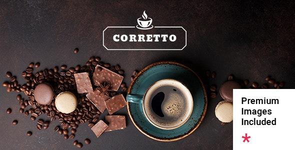 Corretto - A Theme for Coffee Shops and Cafés - Restaurants & Cafes Entertainment