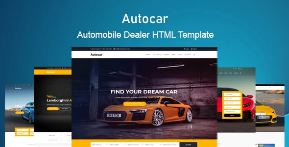Auto Car - Car Dealer HTML Template