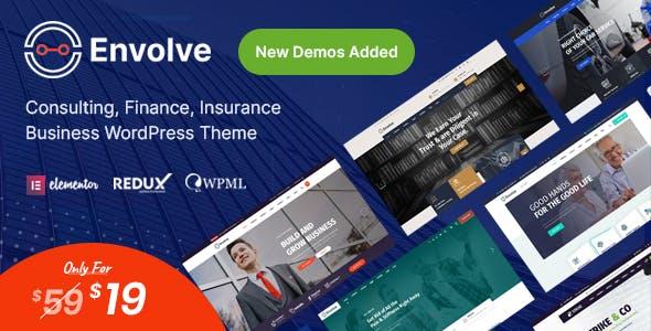 Envolve - Consulting Business WordPress Theme