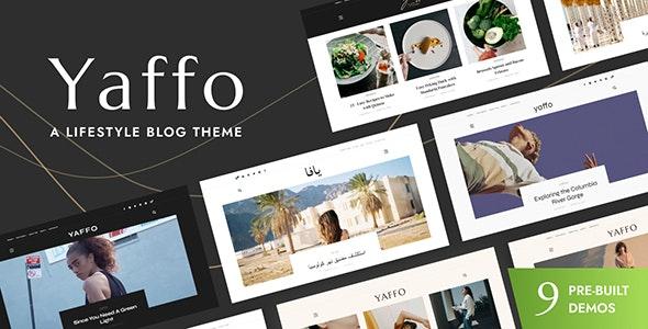 Yaffo - A Lifestyle Personal WordPress Blog Theme - Personal Blog / Magazine