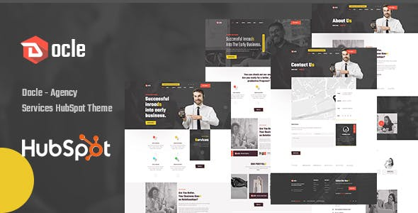 Docle - Agency Services HubSpot Theme