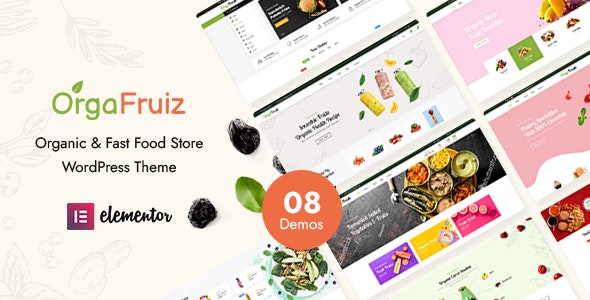 OrgaFruiz - Organic & Food WooCommerce Theme (RTL Supported) - WooCommerce eCommerce