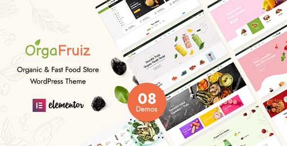 OrgaFruiz - Organic & Food WooCommerce Theme (RTL Supported)