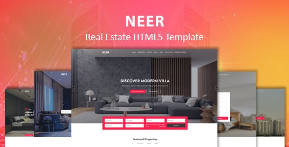 NEER - Real Estate HTML Template