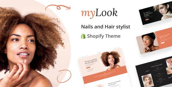 MyLook - Nails and Hair Stylist Shopify Theme