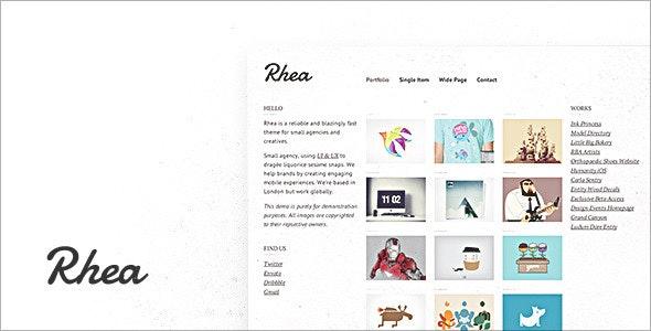 Rhea - Portfolio Creative