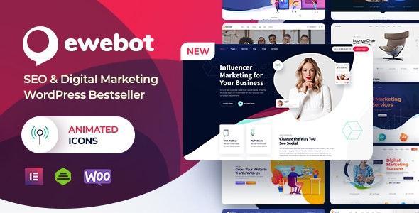 Ewebot v2.3.7 – SEO Digital Marketing Agency NULLED
