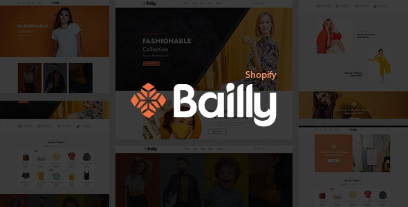 Gts Bailly - Multipurpose Sections Shopify Theme - Fashion Shopify