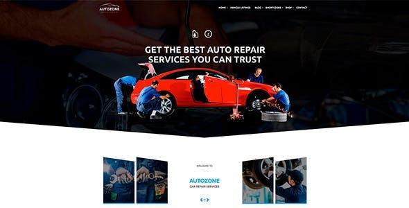 Autozone - Auto Dealer & Car Rental Theme
