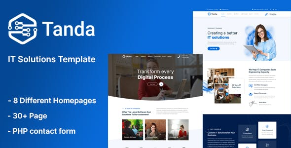 Tanda - IT Solutions Template