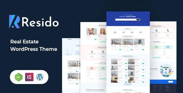 Resido - Real Estate WordPress Theme - Real Estate WordPress