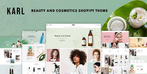 Karl - Beauty & Cosmetics Shopify Theme - Health & Beauty Shopify