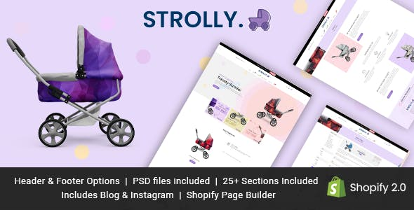 Strolly Single Product Shopify Theme