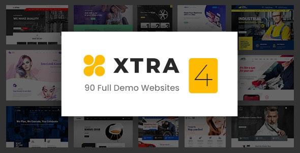 XTRA - Multipurpose WordPress Theme + RTL - Business Corporate