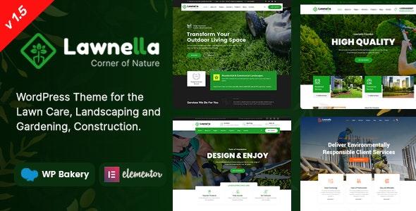 Lawnella - Gardening & Landscaping WordPress Theme - Business Corporate