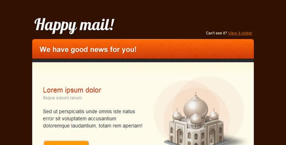 Happy Mail - Newsletter