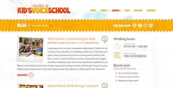 Kids Voice School
