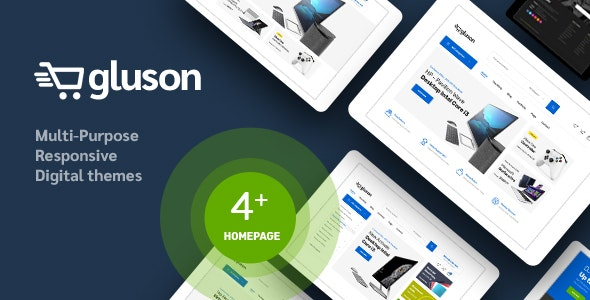 Gluson v1.0 – Digital Responsive Prestashop Theme