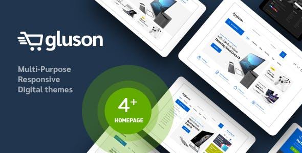 Gluson - Digital Responsive Prestashop Theme
