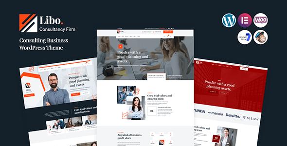 Libo - Consulting Business WordPress Theme
