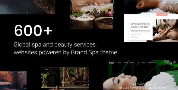 Grand Spa | Massage Salon WordPress