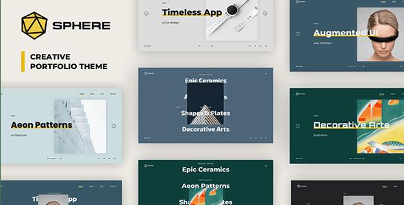 Sphere — Creative Portfolio Theme