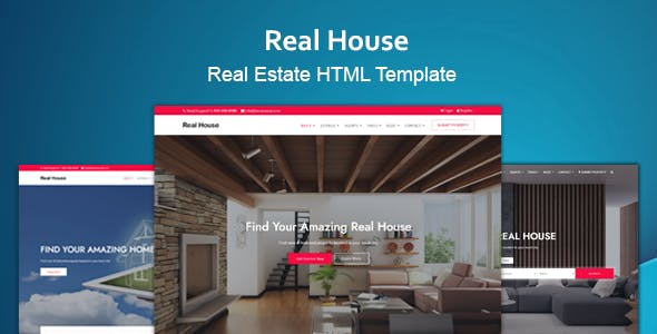 Real House - Real Estate HTML Template