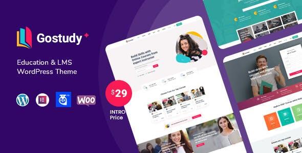 Gostudy - Education WordPress Theme