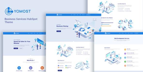 Yomost - Business Services HubSpot CMS Theme - Corporate HubSpot CMS Hub