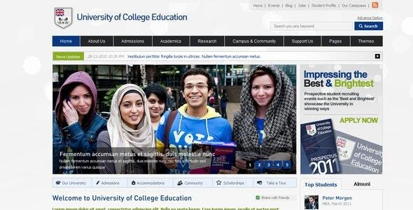 College Education - Business Corporate