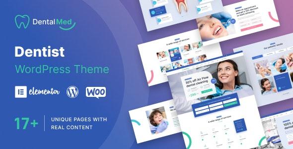 DentalMed - Dentist Clinic WordPress Theme - Health & Beauty Retail