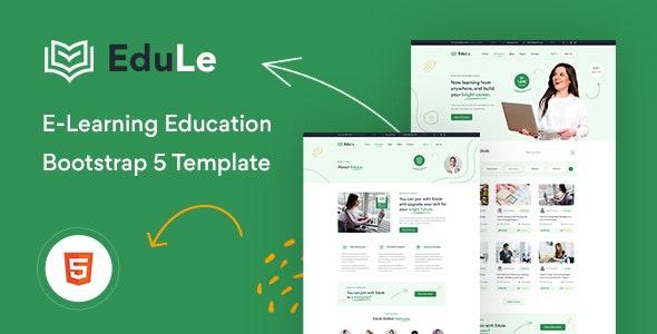 Edule - eLearning Website Template - Business Corporate