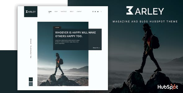 Barley - Blog and Magazine HubSpot Theme