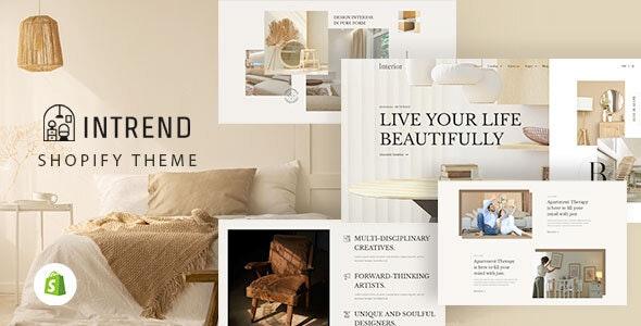 Intrend - Modern Shopify Theme - Shopping Shopify