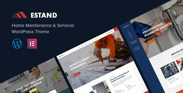 Estand   House Renovation Maintenance WordPress Theme - Business Corporate