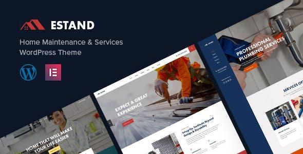 Estand | House Renovation Maintenance WordPress Theme