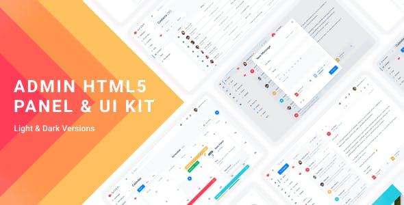 Arion – Admin Dashboard & UI Kit HTML5 Template