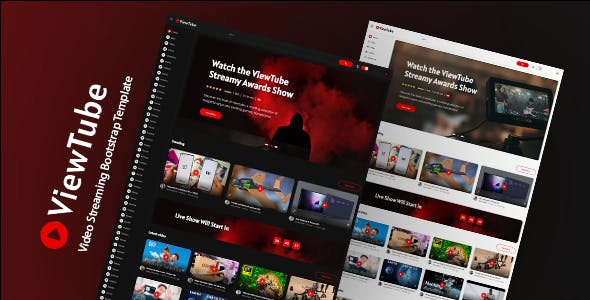 ViewTube | Video Streaming HTML5 Template