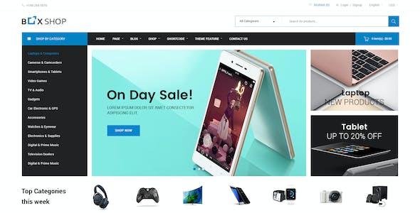 BoxShop - Responsive WooCommerce WordPress Theme