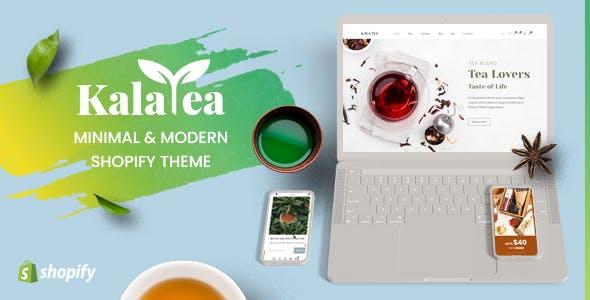 Kala Tea - Mobile Optimized Responsive Shopify Theme