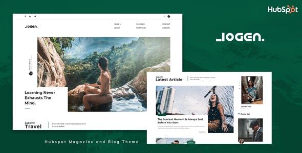 Logen - Blog and Magazine HubSpot Theme