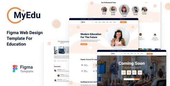 MyEdu- Online Education - UI Templates
