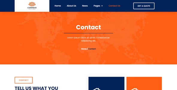 Conpress - Construction Service Elementor Template Kit